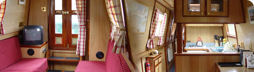 Scotland canal boat holiday